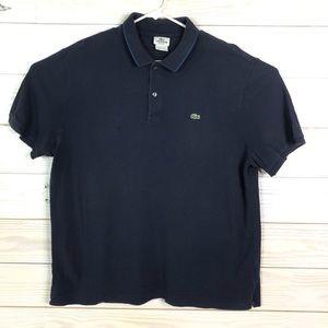 Lacoste Men Polo Golf Shirt Regular Fit Size XXL